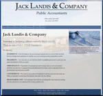 Jack Landis & Company - Public Accountants